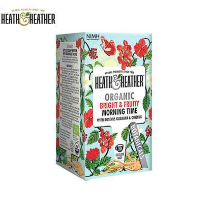Picture of Heath & Heather Bright & Fruity Morning Time Tea 1 Box