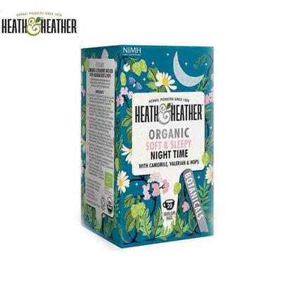 Picture of Heath & Heather Soft & Sleepy Night Time Tea 1Box