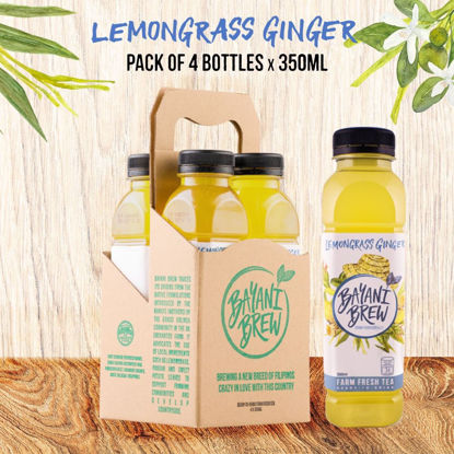Picture of Bayani Brew Lemongrass Ginger (350ml) - 4 bottles
