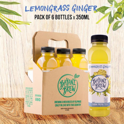 Picture of Bayani Brew Lemongrass Ginger (350 ml) - 6 bottles