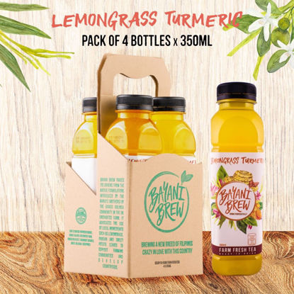 Picture of Bayani Brew Lemongrass Turmeric (350ml) - 4 bottles