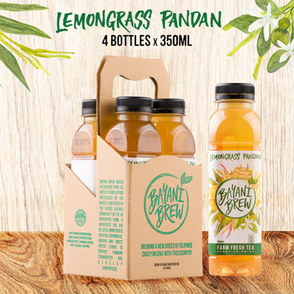 Picture of Bayani Brew Lemongrass Pandan (350ml) - 4 bottles