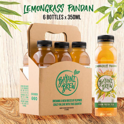 Picture of Bayani Brew Lemongrass Pandan (350ml) - 6 bottles