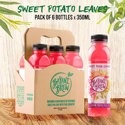 Picture of Bayani Brew Sweet Potato Leaves (350ml) - 6 bottles