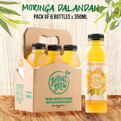 Picture of Bayani Brew Moringa Dalandan (350ml) - 6 bottles