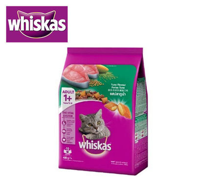 Picture of Whiskas Dry Tuna 480g