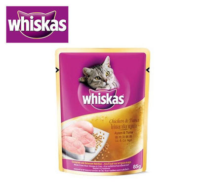 Picture of Whiskas chicken and tuna 85g