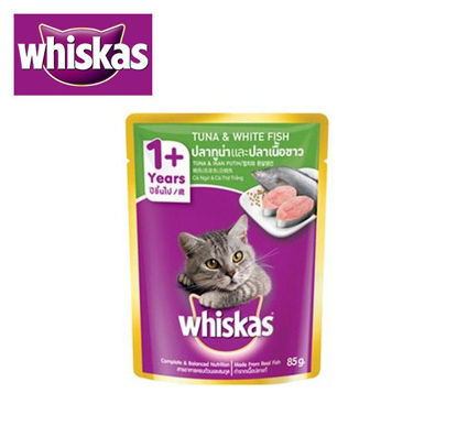 Picture of Whiskas tuna and whitefish 85g