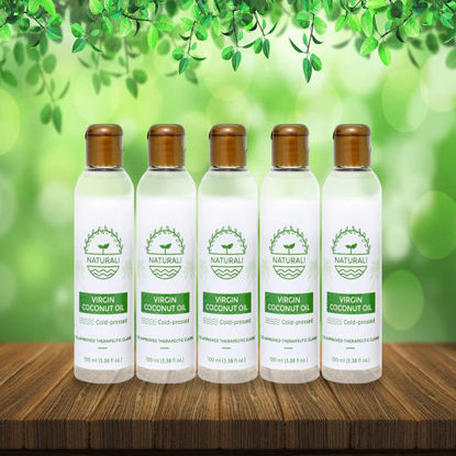 Picture of Naturali Virgin Coconut Oil Pack of 5 Bundle 100ml