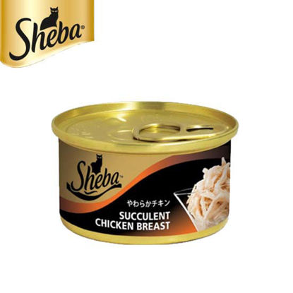Picture of Sheba Can Chicken Breast 85g