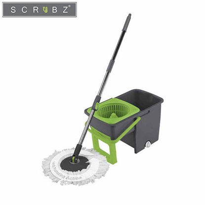 Picture of SCRUBZ Heavy Duty Cleaning Essentials Easy Grip Premium Microfiber 360ᴼ