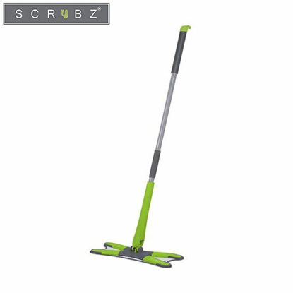 Picture of SCRUBZ Heavy Duty Cleaning Essentials Easy Grip Premium Microfiber 360ᴼ X-Type Flat Mop