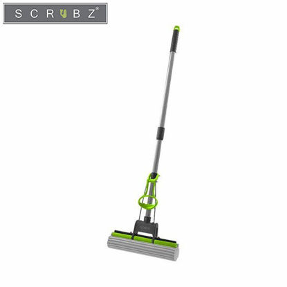 Picture of SCRUBZ Heavy Duty Cleaning Essentials Easy Grip Premium PVA Sponge Mop