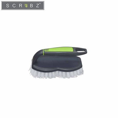 Picture of SCRUBZ Heavy Duty Cleaning Essentials Easy Grip Premium Iron Shape Brush