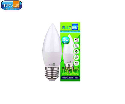 Picture of Eurolux Led Smd Candle Bulb Frosted 4W (E-14) Warmwhite