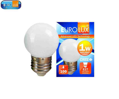 Picture of Eurolux Led Pingpong Bulb 1W (Day Light)