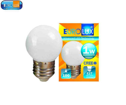 Picture of Eurolux Led Pingpong Bulb 1W (Warm White)