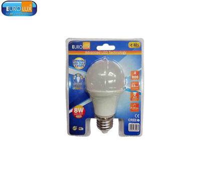 Picture of Eurolux 3 Steps Dimmable Led Smd Bulb 8W (Daylight , Warmwhite)
