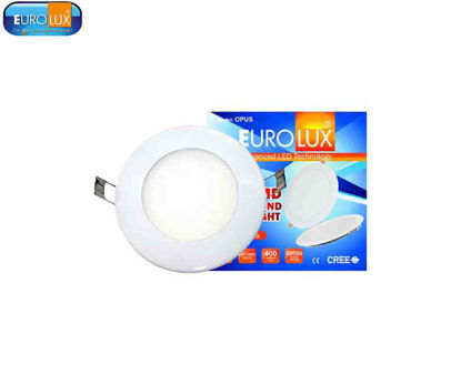 Picture of Eurolux Opus   Led Smd Slim Round Downlight 8W Daylight