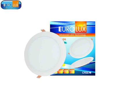 Picture of Eurolux Opus   Led Recessed & Surface Mount Tricolor 6W Rt Coolwhite/Daylight/ Warmwhite