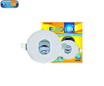 Picture of Eurolux Beta   Round Sharp Led Cob Spotlight Warmwhite
