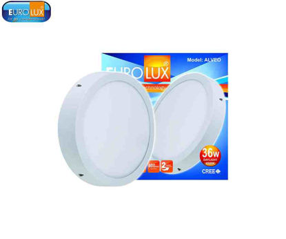 Picture of Eurolux Alveo   Round Led Smd Surface Panel Light 36W Daylight