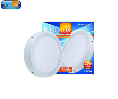 Picture of Eurolux Alveo   Round Led Smd Surface Panel Light 42W Daylight