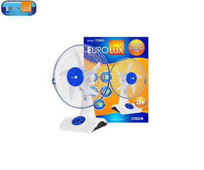 Picture of Eurolux Tonki   Ac/Dc Rechargeable Fan 15W