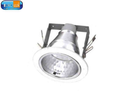 """Picture of Eurolux Beehive Silver Downlight E30 6"""""""