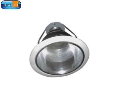 Picture of Eurolux Dotted Silver Downlight E27 8""