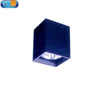 """Picture of Eurolux Pillar   Square Downlight Surface Type E27 6"""""""