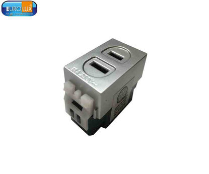 Picture of Eurolux Flat Pin Outlet (Ewof Sg) 16A