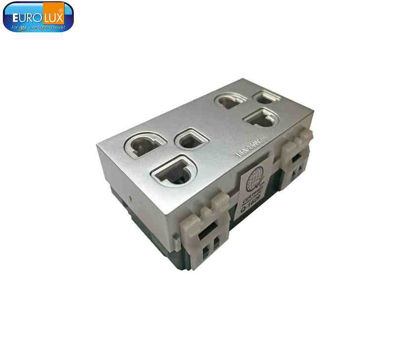 Picture of Eurolux Universal Duplex Outlet (Ewodg Sg) 16A
