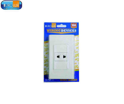 Picture of Eurolux 1 Gang Universal Outlet (Ews1Guo) 16A