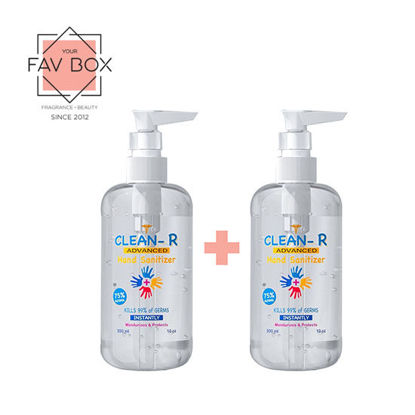 Picture of Clean-R Hand Sanitizer 300ml 2pcs Bundle