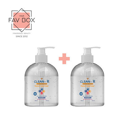 Picture of BUY 1 TAKE 1 YOUR FAV BOX Clean-R Hand Sanitizer 500ml 2pcs Bundle
