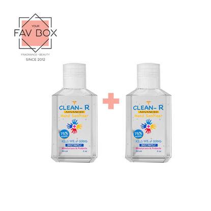 Picture of YOUR FAV BOX Clean-R Hand Sanitizer 60ml 2pcs Bundle