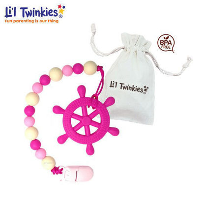 Picture of Li'l Twinkies Teether w/ Clip-on,Helm