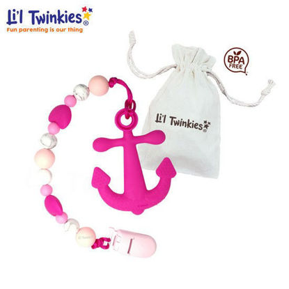 Picture of Li'l Twinkies Teether w/ Clip-on,Anchor