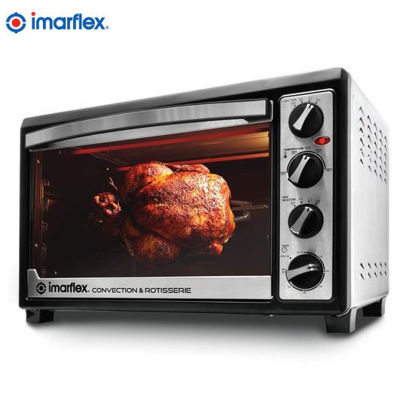 Picture of Imarflex IT-480CRS 3-in-1 Convection & Rotisserie Oven