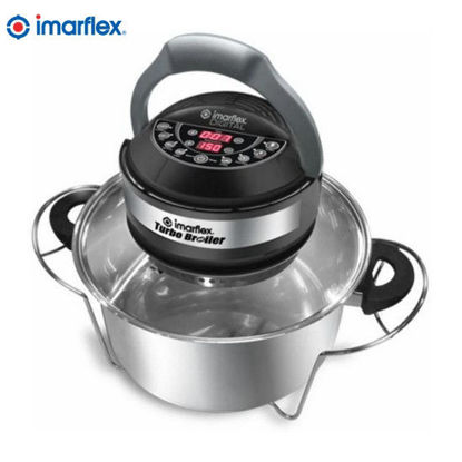 Picture of Imarflex CVO-900DS Digital Turbo Broiler (Silver)