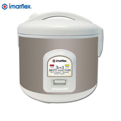 Picture of Imarflex IRJ-1000Y 3 in 1 Multi-function Rice Cooker 1.0L 5 Cups