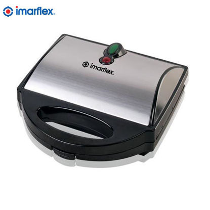 Picture of Imarflex ISM-300HW Hotdog Waffle Maker Stainless Top