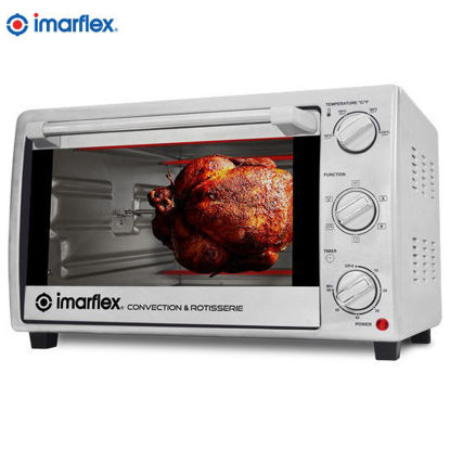 Picture of Imarflex IT-281CRS 28Liters 3in1 Convection and Rotisserie Oven