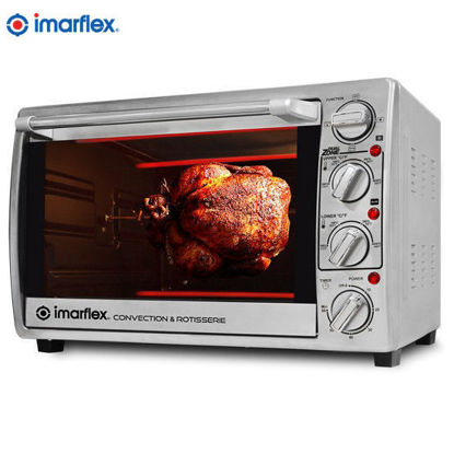 Picture of Imarflex IT-350CRS 35Liters 3in1 Convection and Rotisserie Oven