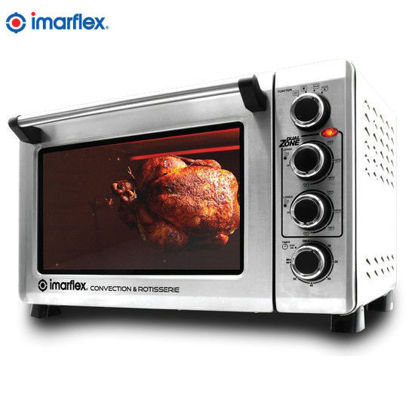 Picture of Imarflex IT-420CRS Convection and Rotisserie Oven Toaster