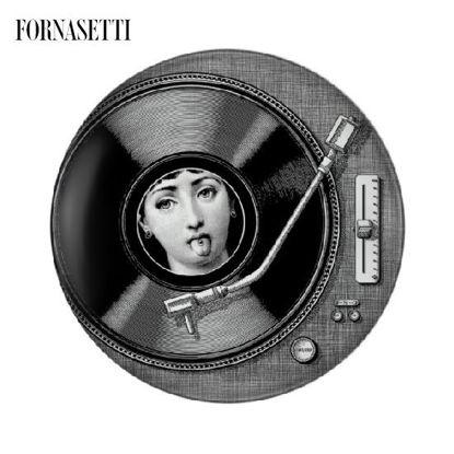 Picture of Fornasetti Wall plate Tema e Variazioni n°370 black/white