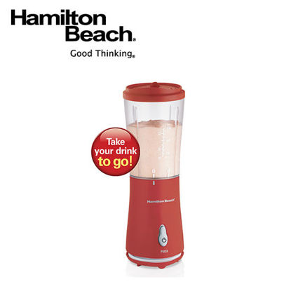 Picture of Hamilton Beach Single Serve Blender with Travel Lid- Red 51105-PH