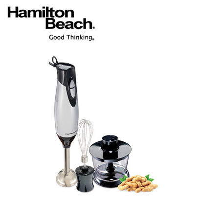 Picture of Hamilton Beach 2 Speed Hand Blender with whisk and chopping bowl 59765-PH