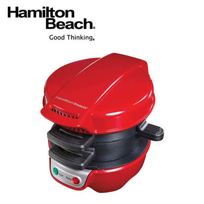 Picture of Hamilton Beach Breakfast Sandwich Maker-Red 25476-PH